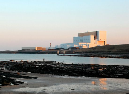 Torness nuclear power plant