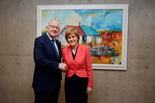 Minister-Flanagan-and-Scottish-First-Minister-Nicola-Sturgeon-Large