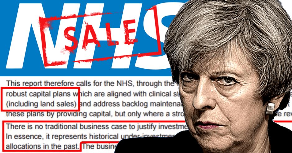 Theresa-May-Naylor-Report-Asset-Stripping-NHS