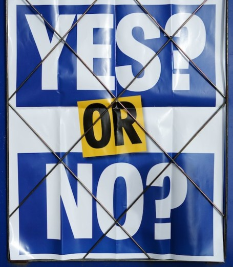 Before Scottish vote on independence